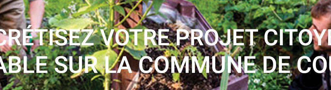 Bonne nouvelle à Courcelles : un appel à projets pour soutenir le développement durable !