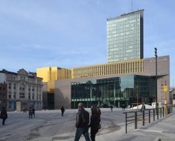 Visite du District Central de Charleroi avec la Maison de l'Urbanité de Liège
