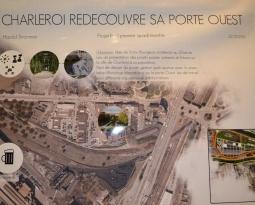 Exposition « Evolution de la Porte Ouest à Charleroi »