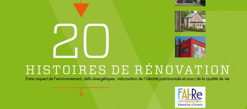 « 20 histoires de rénovation » : Envoyez-nous vos projets !