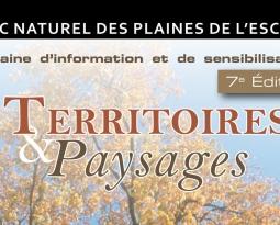 La Maison de l'Urbanisme du Hainaut collabore à la semaine «Territoires et Paysages» du Parc naturel des Plaines de l'Escaut