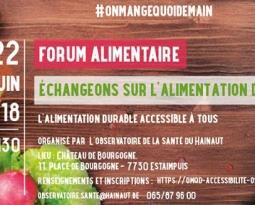Forum alimentaire : échangeons sur l'alimentation durable