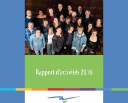 Revivez l'année 2016 à travers notre rapport d'activités