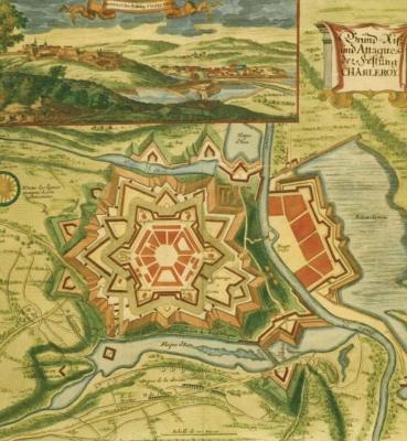 Réalisation d'une brochure «Charleroi, de la ville fortifiée à la ville de demain – 350 ans d'histoire urbaine : 1666 – 2016»