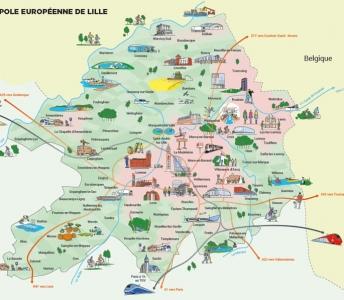 Elaboration du diagnostic de territoire de la Métropole européenne de Lille (France)