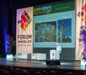 Animation d'ateliers dans le cadre du Forum Immobilier de Charleroi-Sud Hainaut