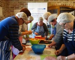 Projet Interreg VA Alimentation Durable INclusive : événement intermédiaire le jeudi 20 septembre 2018 à Vieux-Condé (France)