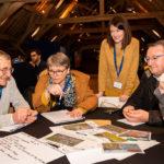 discutions autour de la lecture du rapport d'activités d'Espace Environnement