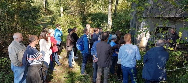 TVBuONAIR : retour sur la journée de visites et d'échanges transfrontaliers «La biodiversité et le patrimoine bâti» le 4 octobre 2018