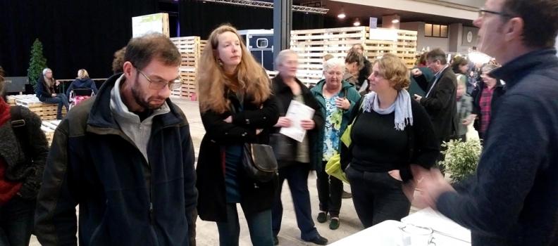 Communes Zéro Déchet : Espace Environnement présent au salon Récup'ère à Namur