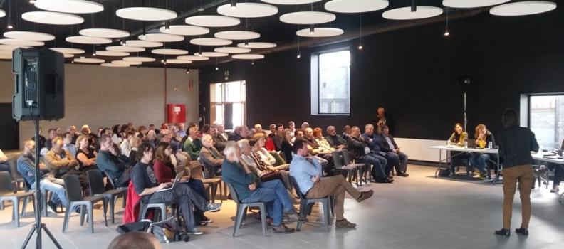 Installation d'une entreprise de recyclage de plomb sur le zoning de Ghlin : Espace Environnement anime la réunion d'information préalable
