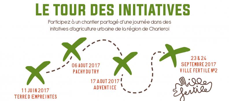Ville Fertile – Tour des initiatives – 6 et 17 août 2017