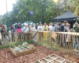 TVBuONAIR : Inauguration d'un potager partagé à Montigny-le-Tilleul