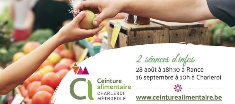 Ceinture Alimentaire pour Charleroi Métropole – séances d'infos