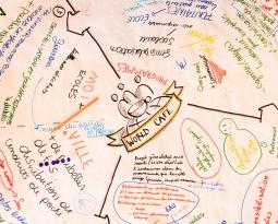 Un «World Café Jeunes et Climat» a été animé par Espace Environnement le 28 mars à Namur