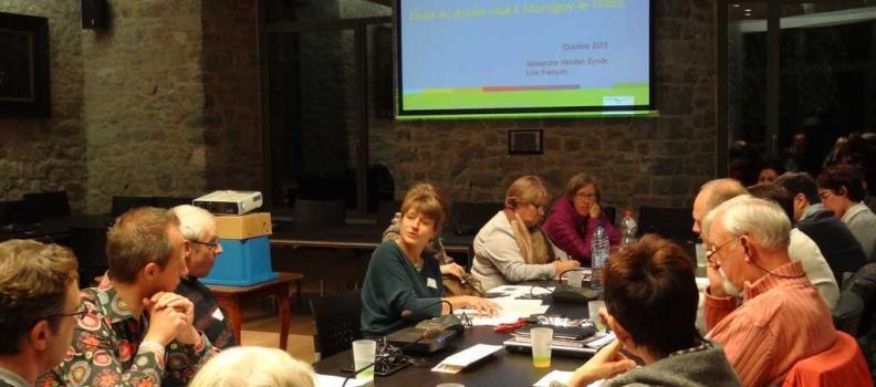 Formation sur la densification rurale avec la Maison de l'urbanisme du Hainaut