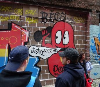 Popul'Art Cité : Street art et rénovation urbaine au rendez-vous de l'insertion des jeunes