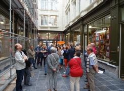 Beau succès pour la découverte des coulisses du renouveau de Charleroi