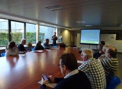 Maison de l'urbanisme du Hainaut : Rencontre avec la CCATM de Frasnes-lez-Anvaing sur la mobilité alternative en milieu rural le 26 septembre 2018