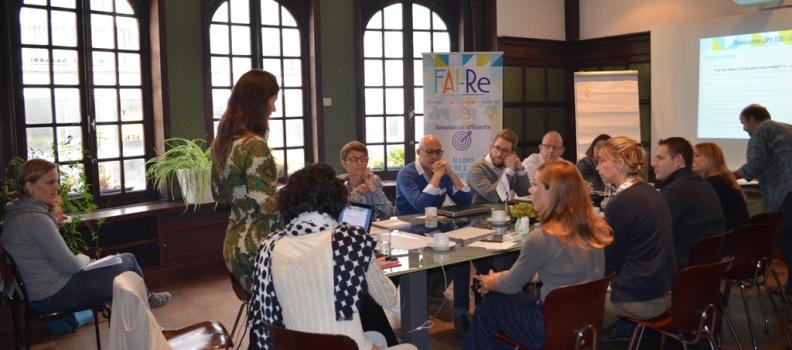 Rencontre des Guichets de l'Energie et les Espace Info-Energie à Espace Environnement