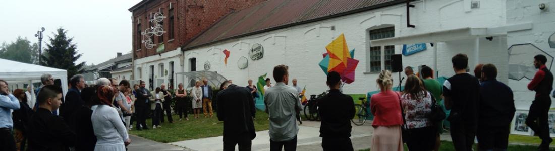 Popul'Art Cité, inauguration des projets des jeunes…