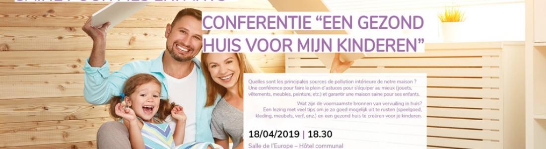 «Une maison saine pour mes enfants» : une conférence à Etterbeek le 18 avril avec Espace Environnement