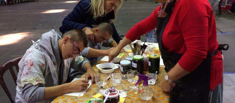 Un beau succès pour la journée « Découverte – plaisir – santé » à Marcinelle