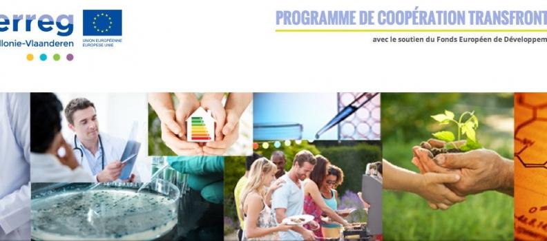 Espace Environnement a déposé plusieurs projets lors du 1er appel du Programme Interreg VA