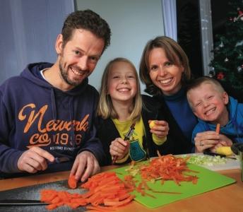 Accompagnement de foyers-témoins wallons pour la promotion d'une alimentation plus durable, saine et sans gaspillage (Défi Alimentation Durable)