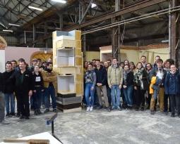 FAI-Re : Une belle rencontre entre étudiants architectes et Compagnons du Tour de France