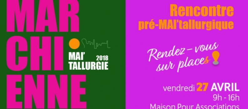 Festival MAI'tallurgie : «Des places et vous !»