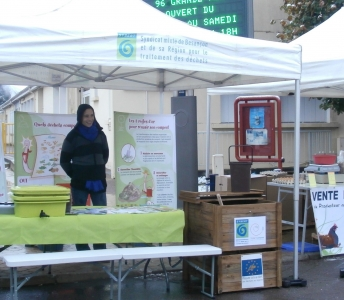 Coaching des animateurs du SYBERT à la sensibilisation en matière de prévention des déchets en habitat social (France)