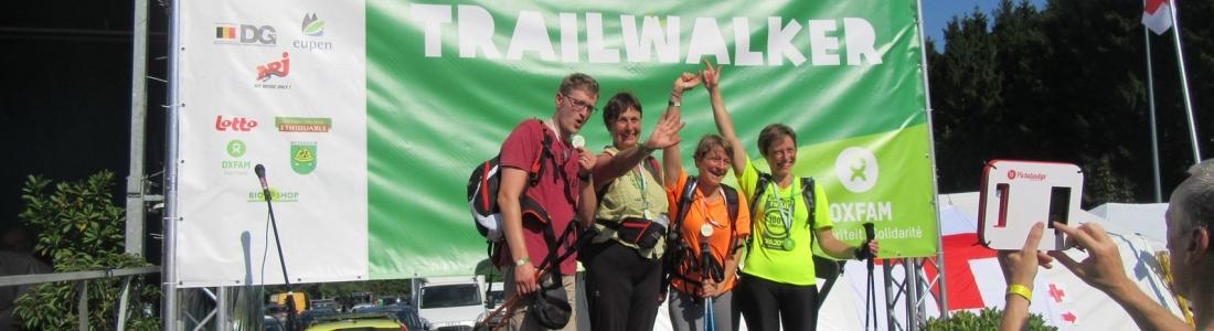 Oxfam Trailwalker, ils l'ont fait: 100 km parcourus par l'équipe d'Espace Environnement !