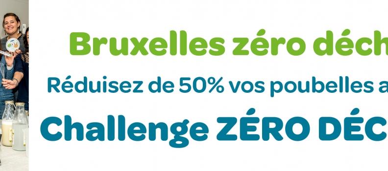 A Bruxelles, réduisez vos poubelles de 50% grâce au « Challenge Zéro Déchet »