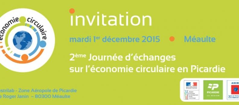 2e Journée d'échanges sur l'économie circulaire en Picardie