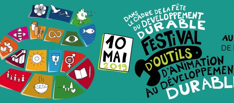 Rejoignez-nous au Festival d'outils d'animation au développement durable le 10 mai au PASS de Frameries