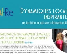 « Dynamiques locales inspirantes… nos territoires en route vers la Rénovation efficiente », parution des 3 premières fiches du guide éditées dans le cadre du projet Interreg VA FAI-Re.