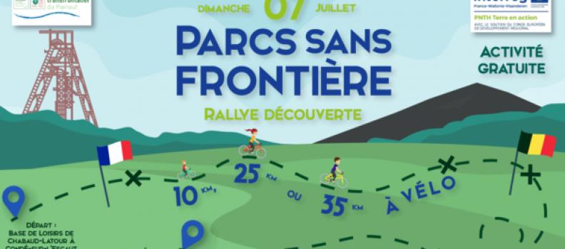 Le 7 juillet,  participez en famille ou entre amis à un rallye découverte à travers le Parc Naturel Transfrontalier du Hainaut.