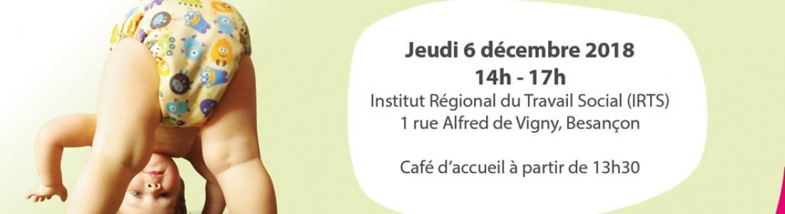 Espace Environnement animera le forum sur les couches lavables à Besançon le 6 décembre prochain