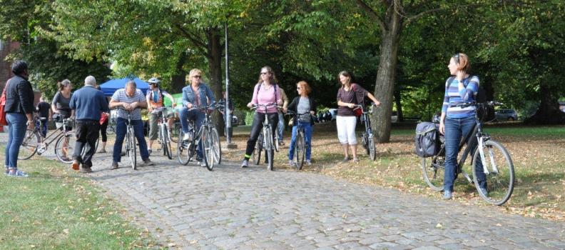 Du monde et du soleil pour le pique-nique de la mobilité mardi à Monceau-sur-Sambre